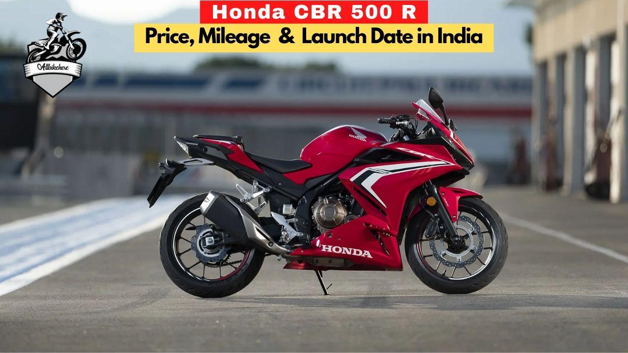 Honda CBR 500 R Price in India