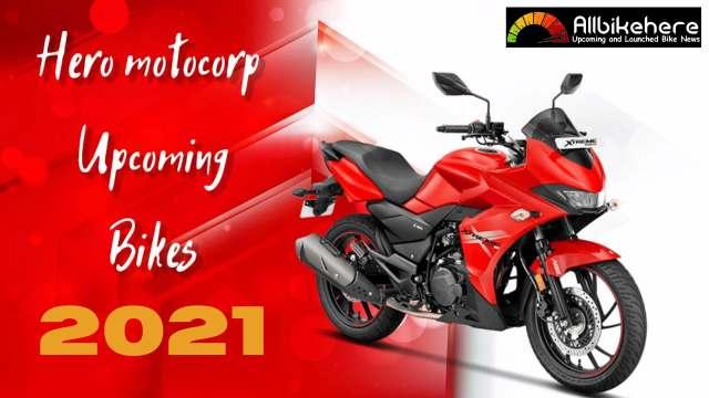 Hero Latest & New Upcoming Bikes 2021