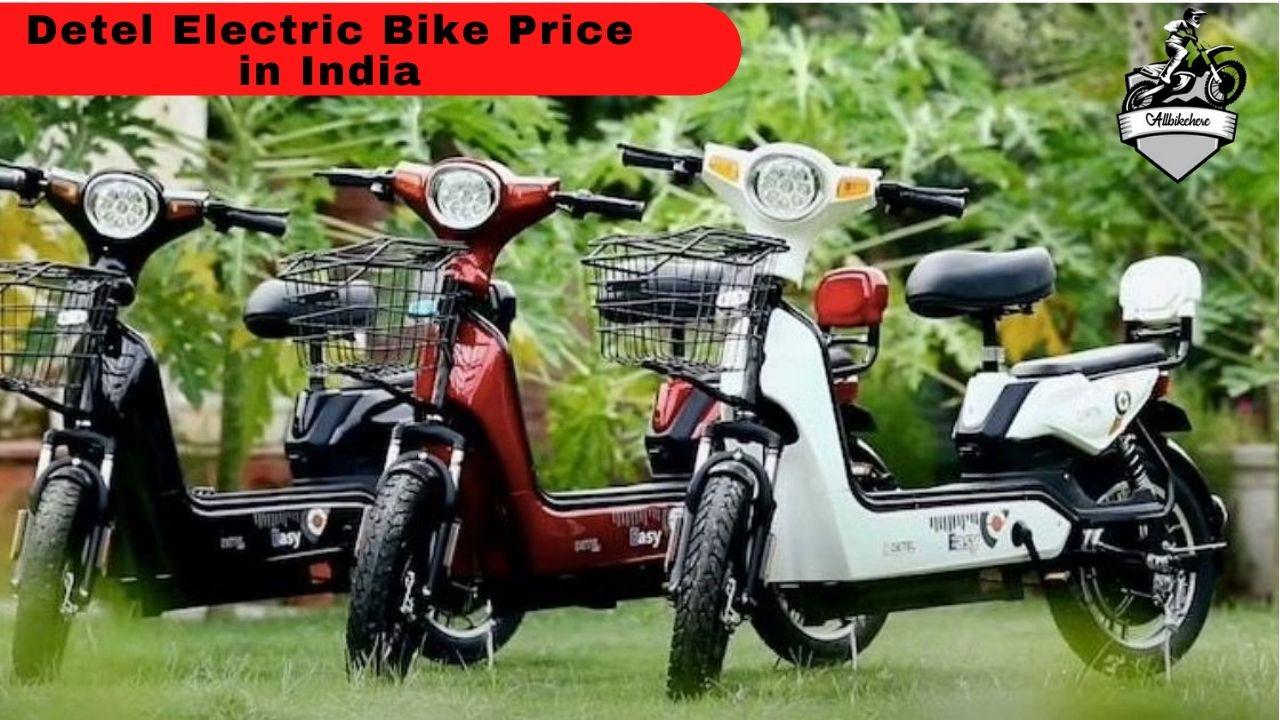 Detel Electric Bike Price in India