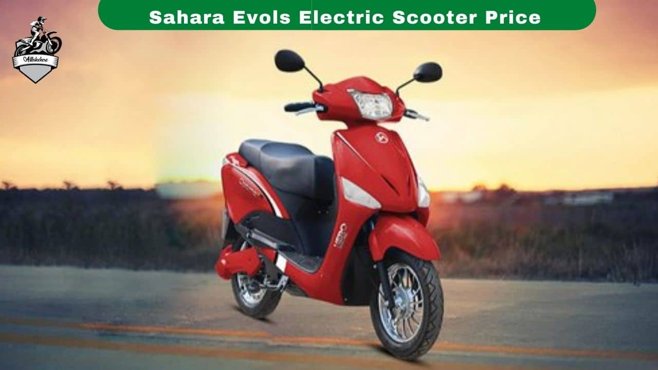 Sahara Evols Electric Scooter Price & Specifications