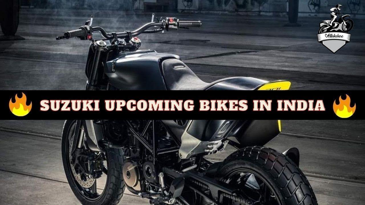 Suzuki Upcoming Bikes in India