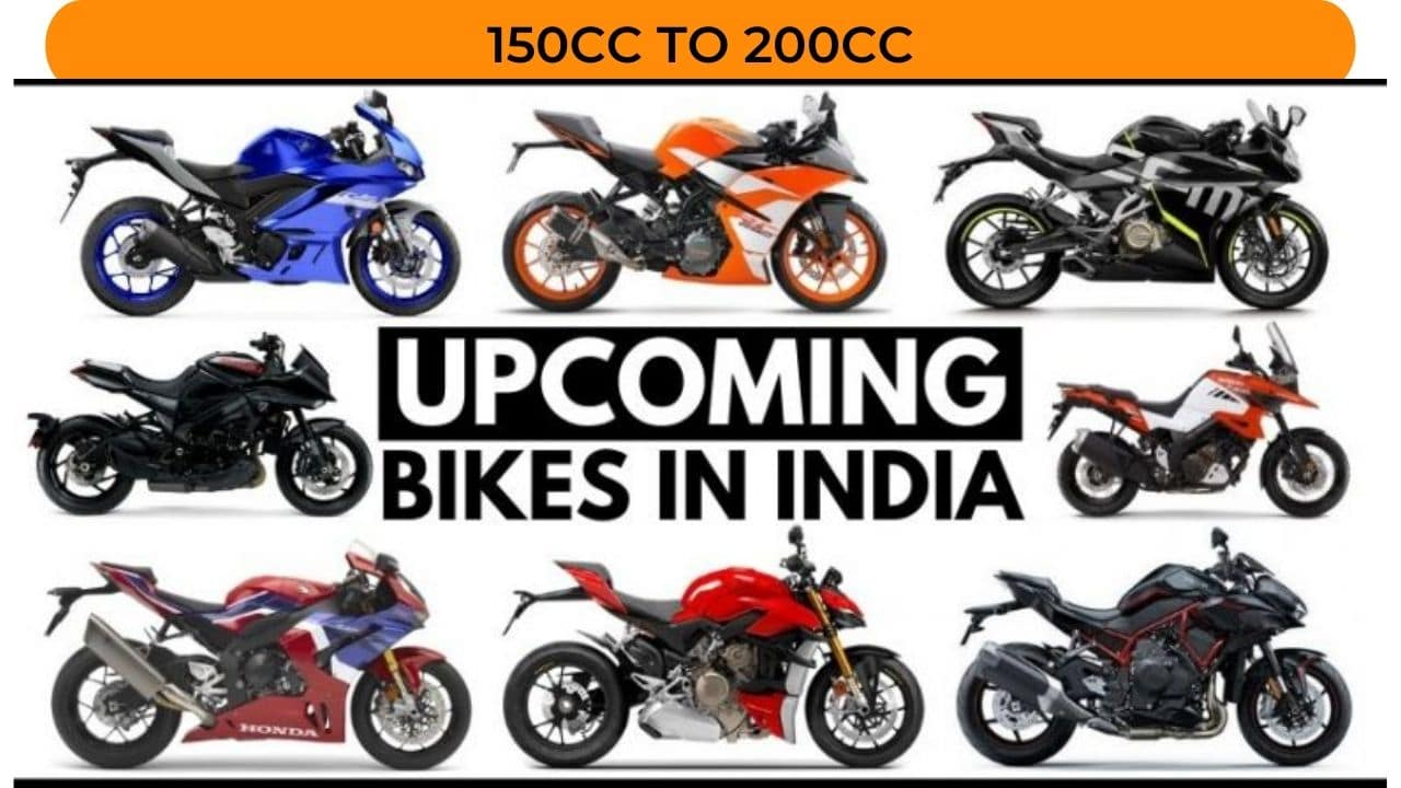 New Upcoming Bikes in India 150cc to 200cc 2021